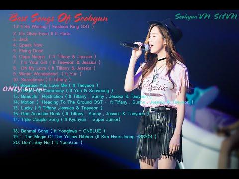 Best Songs of Seohyun (서현) -서주현 최고의 노래모음 .