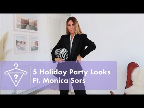 5 Holiday Outfit Ideas Ft. Monica Sors & Marciano