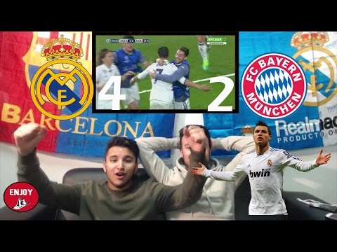 FC BARCELONA FAN REACTS TO CR7 KICKING BAYERN MUNICH PERSONALLY OUT OFF CL 4-2 - LIVE REACTION
