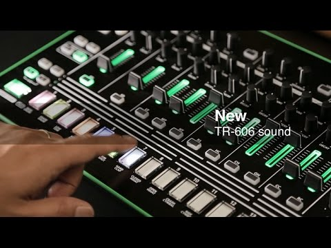 roland tr 606 kit in the 7x7 tr8 drum machine expansion youtube. Black Bedroom Furniture Sets. Home Design Ideas