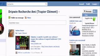Dripwin - Suggérer des amies sur Facebook - Tutoriel en HD 1080P