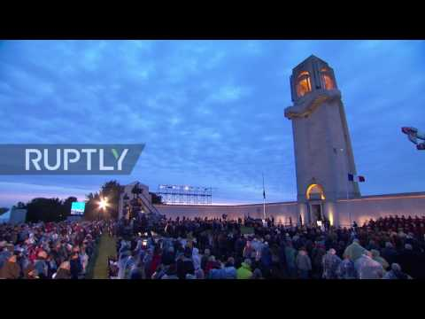 France: Thousands commemorate Anzac Day at Villers-Bretonneux