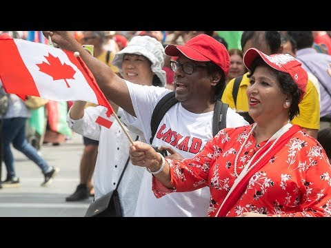 Canada Day Festivities In Montreal