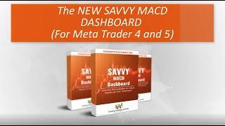 Savvy MACD Dashboard Preview   Meta Trader 4 and 5