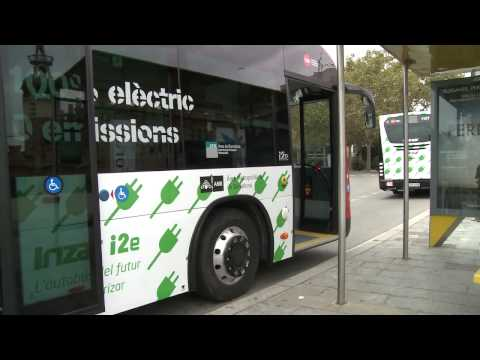 ZeEUS – Tests of electric buses in Barcelona
