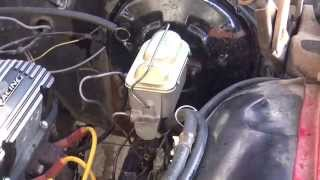69 Ford Galaxie Disc Brake Swap Part 1: How To Change A Master Cylinder.