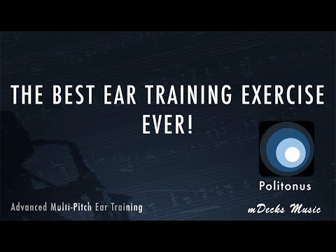 The Best Ear Training Exercise Ever!! Politonus by mDecks Music. Music Education Video