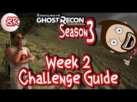 Season 3 - Week 2 Challenge Guide - EXTREME WEEK! - Ghost Recon:Wildlands