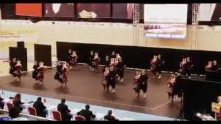 Adıyaman HEM Halk Oyunları Ekibi 2015 Türkiye Şamp