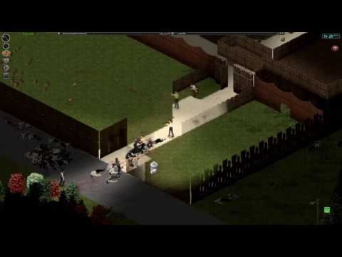 Project Zomboid horde attack
