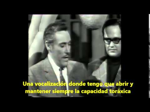 Mario del Monaco técnica de canto
