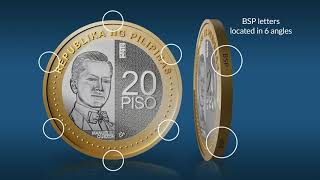 The new 20-piso NGC and enhanced 5-piso coin
