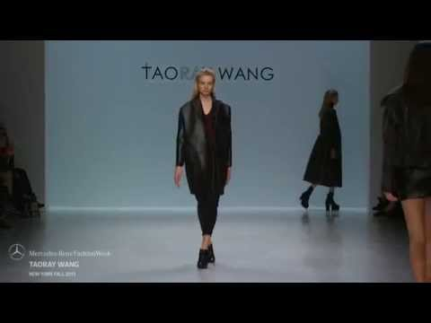 TAORAY WANG MERCEDES-BENZ FASHION WEEK FW 2015 COLLECTIONS