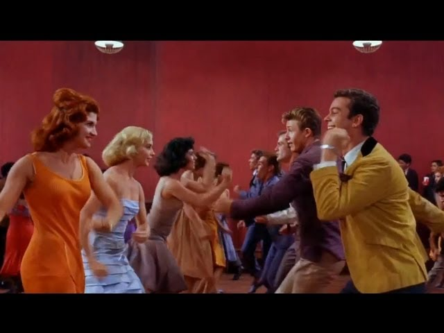 West Side Story Dance At The Gym Mambo Official Dance Scene 50th Anniversary Hd Youtube