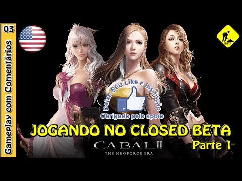 CABAL 2 GAMEPLAY – Primeiro acesso ao Closed Beta (NA) com a PRIEST