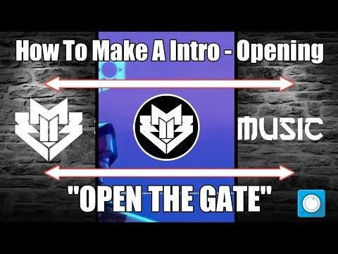 "[TUTORIAL] Cara Membuat Intro / Opening ""Open The Gate"" | Avee Player Template | RONYBAIK MUSIC"