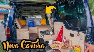 NOVO MINI MOTOR HOME 4X4 CASINHA REFORMADA X Primitive | João, Daia e Antônio E71