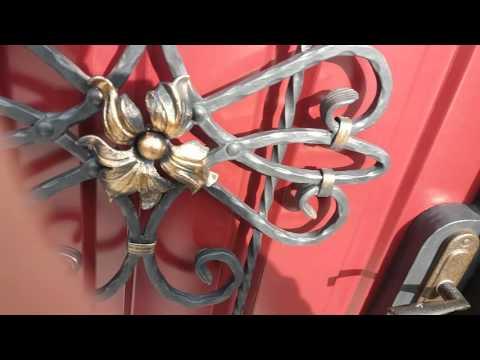 Кованные ворота своими руками !!!