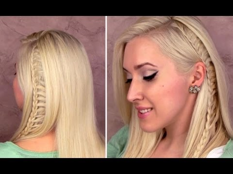 Ladder Braid Tutorial Everyday School Hairstyle For Medium