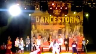 Vlog : Хип хоп девочки выступление DANCESTORM, 24.12.20017.