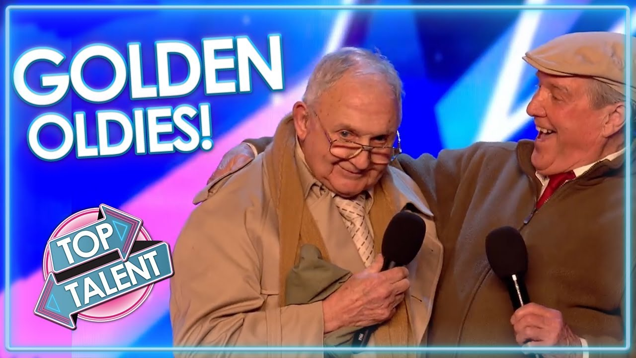 GOLDEN OLDIES On X Factor And Got Talent! | Top Talent