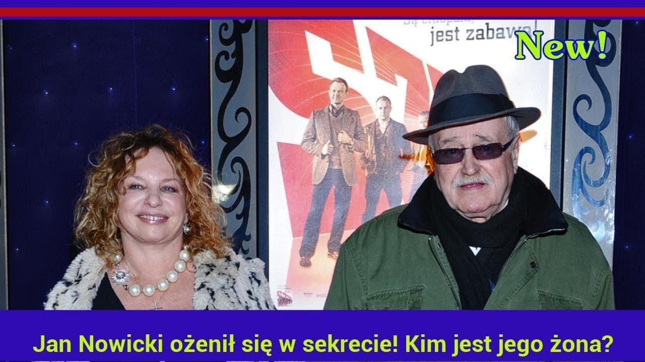 Jan Nowicki ożenił się w sekrecie! Kim jest jego żona?