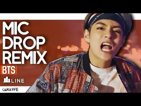 BTS - Mic Drop (Steve Aoki Remix): Line Distribution (RANKING)