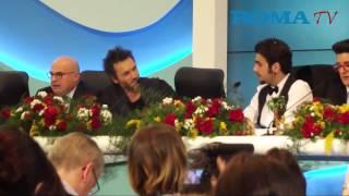 Sanremo 2015, conferenza finale dei vincitori tra applausi e qualche fischio