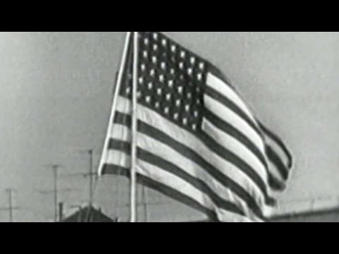 1952 WS Gm7: Gooding performs national anthem