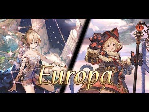 [Granblue Fantasy] Lv120 Europa Impossible Solo (Earth Nekomancer w/ Lunatic Broom)