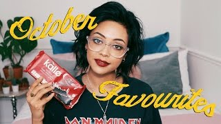 OCTOBER FAVOURITES | BEAUTY, SKINCARE, MAKEUP, MUSIC, FOOD & MORE