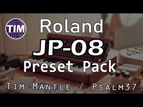 Roland JP-08 - 128 NEW Sounds / Patches / Presets