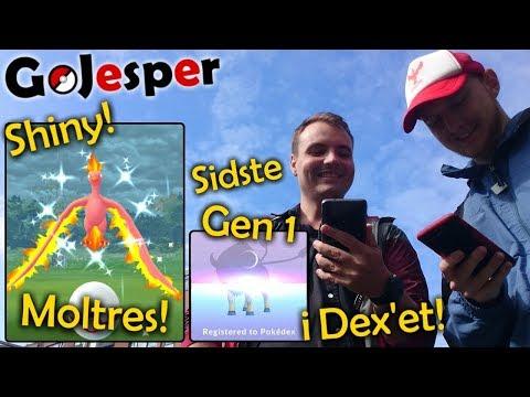 Shiny Moltres Dag!! + SIDSTE Gen1 Pokémon i Dex!! (Dansk Pokémon GO) thumbnail