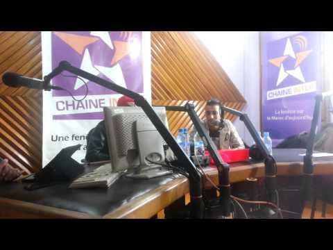 Arabi Acro Today in radio SNRT Habite à Rabat avec hicham lazraK