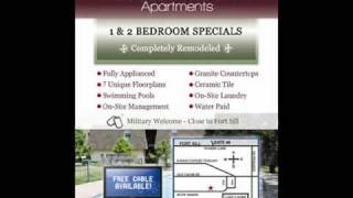 Lawton Oklahoma Apartments - $99 Move In Special!