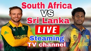 Srilanka vs south africa 2019 live streaming tv channel | sl vs sa 2019 live