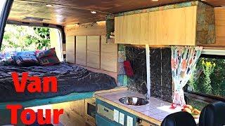 Van Tour - Custom Sprinter Camper Van Conversion, Sleeps 3