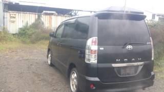 Видео-тест автомобиля Toyota Noah (Azr65-0081622, темно-серый, 2004 г. )