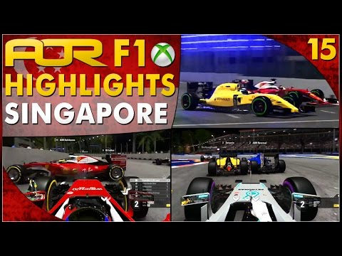F1 2016 | AOR XB1 F1: S12 Round 15 - Singapore GP (Official Highlights)