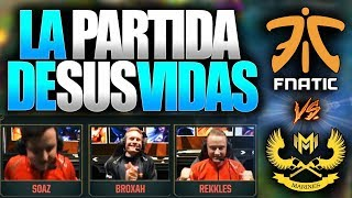 LA PARTIDA MÁS IMPORTANTE DE FNATIC (REMONTADA HISTÓRICA) | MARINES vs FNC | Resumen y Highlights