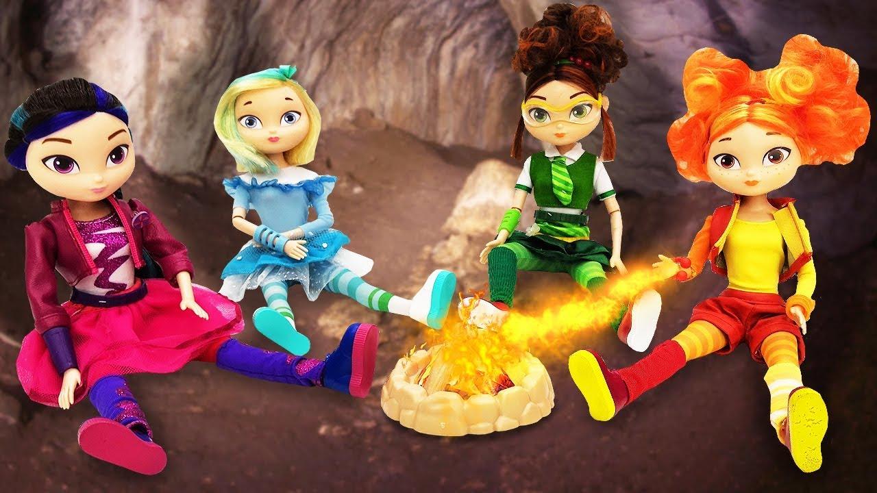 Куклы Сказочный патруль на пикнике. Видео с игрушками для ...