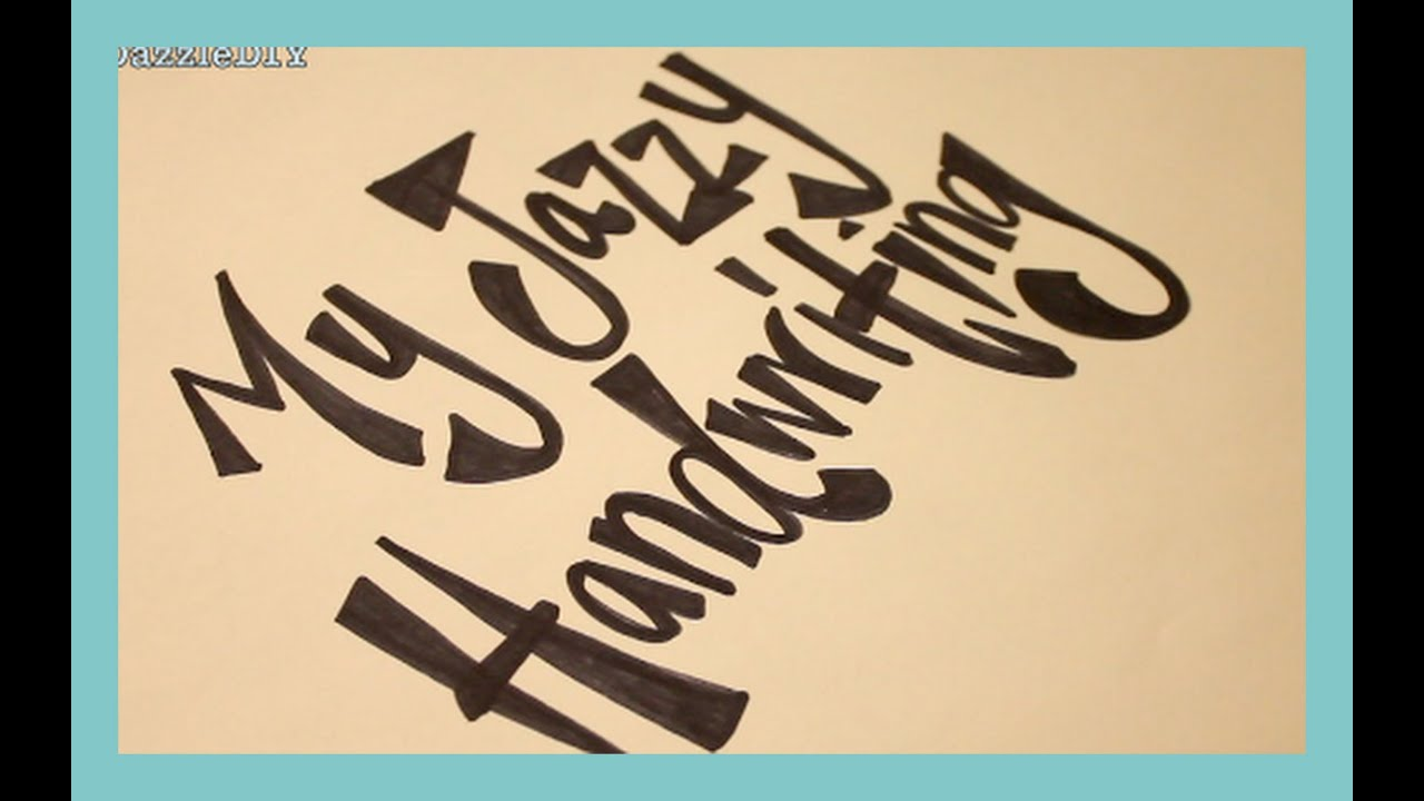 DIY How I Do My Lettering Handwriting Highly Requested