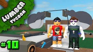 Lumber Tycoon Ep. 10: New Auto Saw w/ CodePrime8!! | Roblox