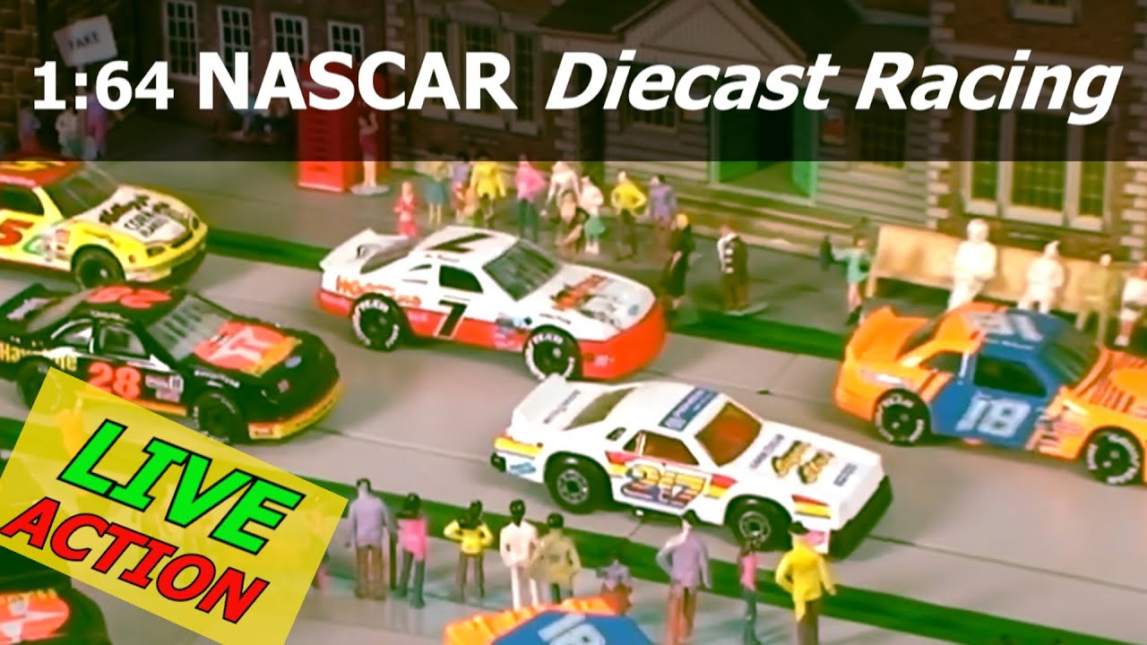 Nascar Race Matchbox Cars Race Coche De Juguete Youtube
