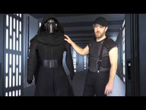 Putting on my 501st TFA Kylo Ren Costume