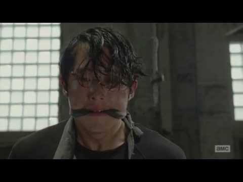 The Walking Dead - Terminus slaughter scene (Sam dies)