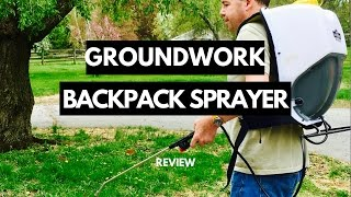GROUNDWORK Backpack Sprayer Review