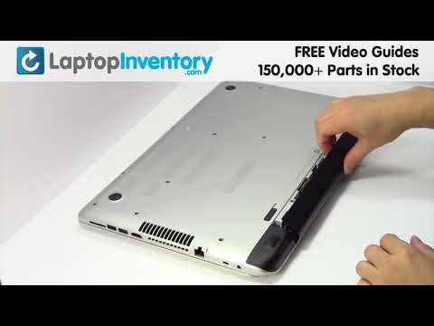 HP PAVILION 17-F Battery Installation Replacement Guide - Remove Replace Install Laptop 15-P 17T 17Z