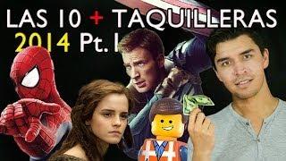 LAS 10 PELÍCULAS MÁS VISTAS 2014 PT.1 COMPLETAS- EDUARDO ROCHA | ENTRANDO AL CINE | WOW QUÉ PASA