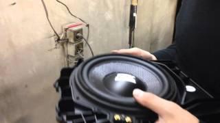 Замена штатной акустики BMW 5 (f10) на акустику MTX TX6.BMW